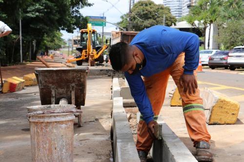 02.03.2021 Vistorias em obras públicas - Fotos Vivian Honorato
