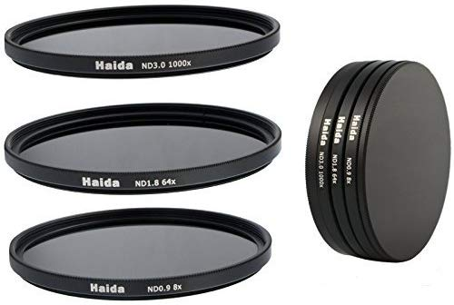 Haida Grey Filters ND8, ND64 and ND1000