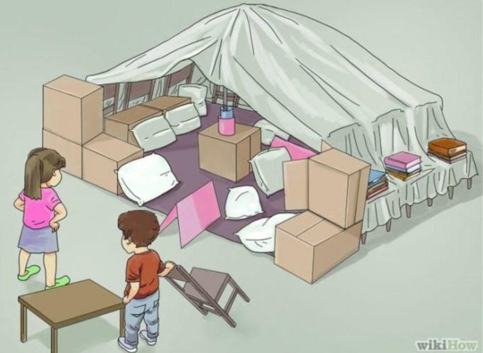 Blanket Tent