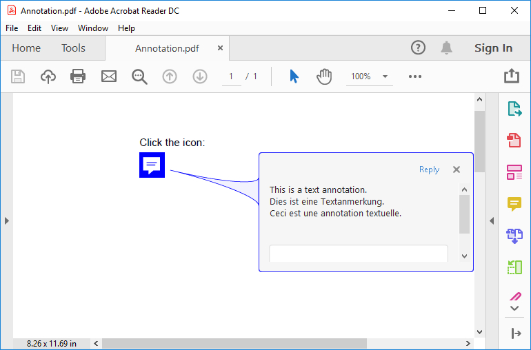 HotPDF Text Annotation