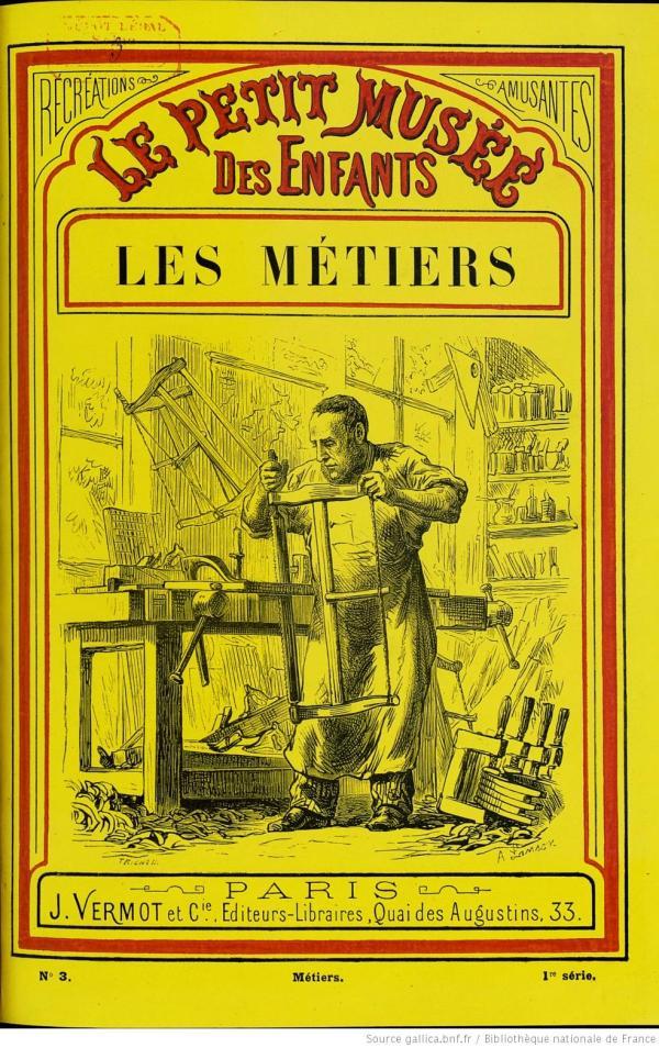 Le Petit Musée Des Enfants - Les Métiers Cover