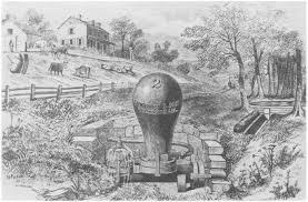 19th c. water ram.