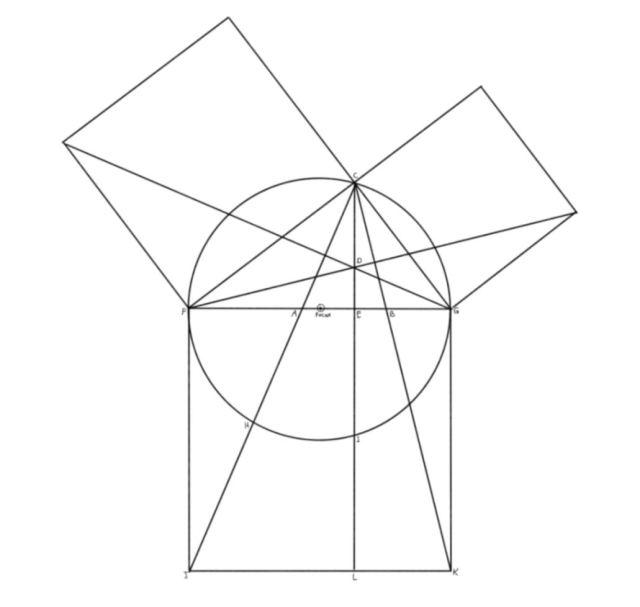 Past Mason's symbol