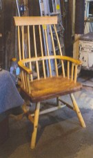 Welsh stick chair.