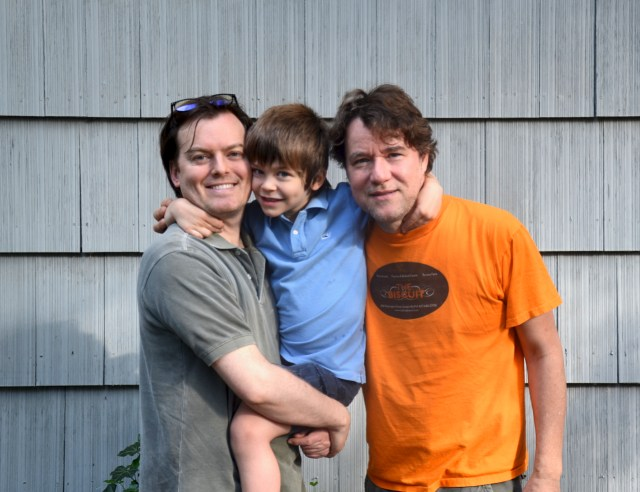 James, Asher and Me