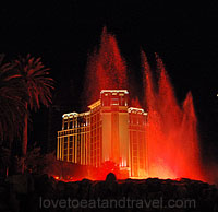 Las Vegas - Mirage Volcano