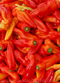 Food - Farmers Market Peppers