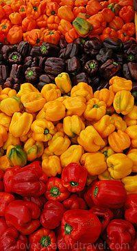 Food - Farmers Market Peppers