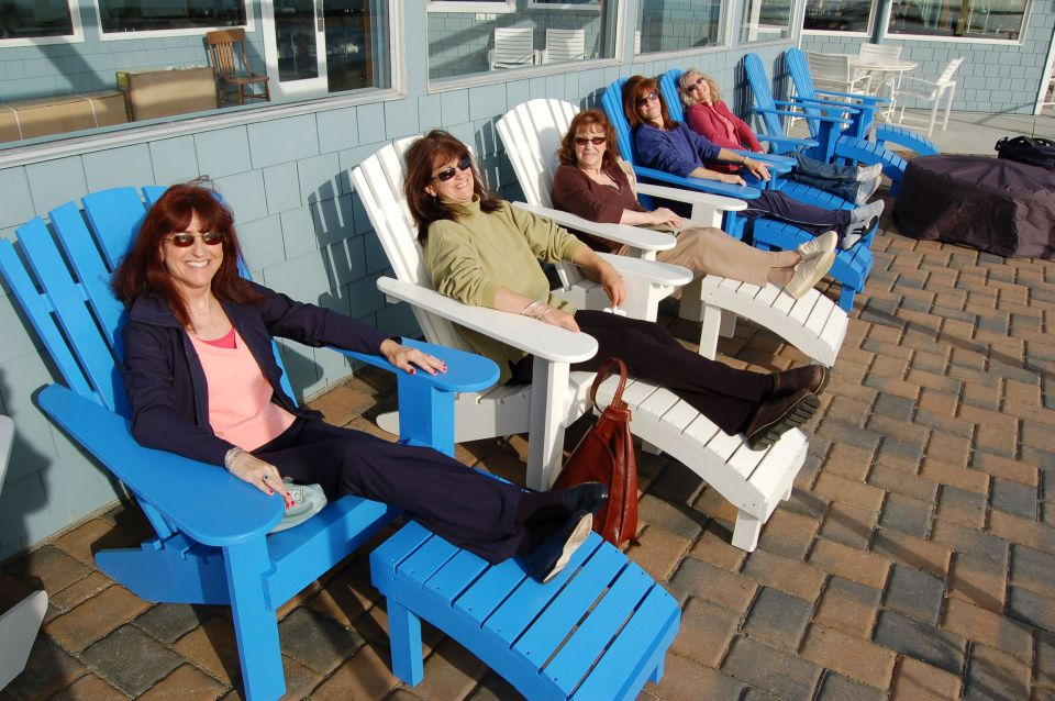 Enjoy the Sun on Adirondack Chairs