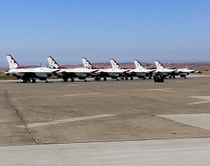 Travis Air Show - USAF Thunderbirds