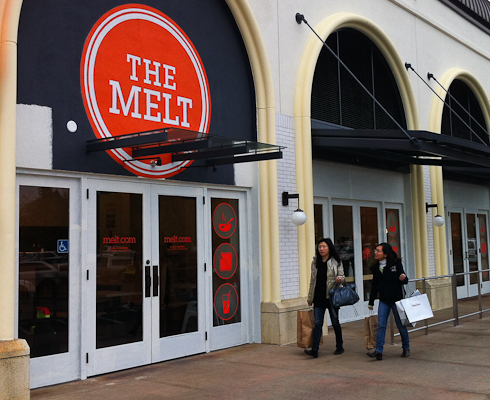 The Melt, Stanford Shopping Center, Palo Alto, CA