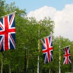 Union Jack Flags along The Mall in London, England - © LoveToEatAndTravel.com