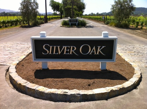 Silver Oak Cellars in Oakville, Napa Valley - © LoveToEatAndTravel.com