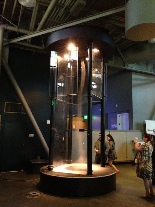 "Exploratorium ""Tornado"" exhibit, San Francisco © LoveToEatAndTravel.com"