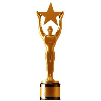 Administrative Professionals Day Gift Idea - Statue Gold Star by Pixtawan © 2013 FreeDigitalPhotos.net