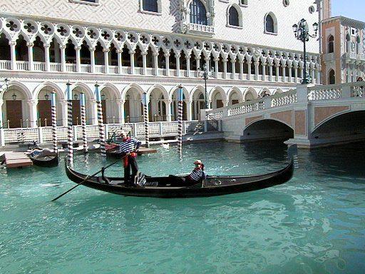 Romantic Gondola Rides at The Venetian Las Vegas © LoveToEatAndTravel.com