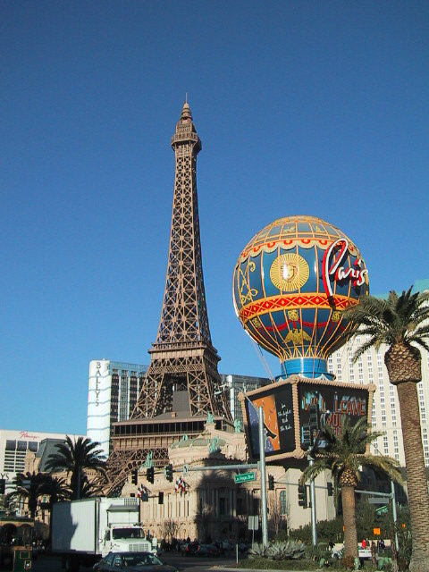 Paris Las Vegas - Eiffel Tower and Observation Deck © LoveToEatAndTravel.com