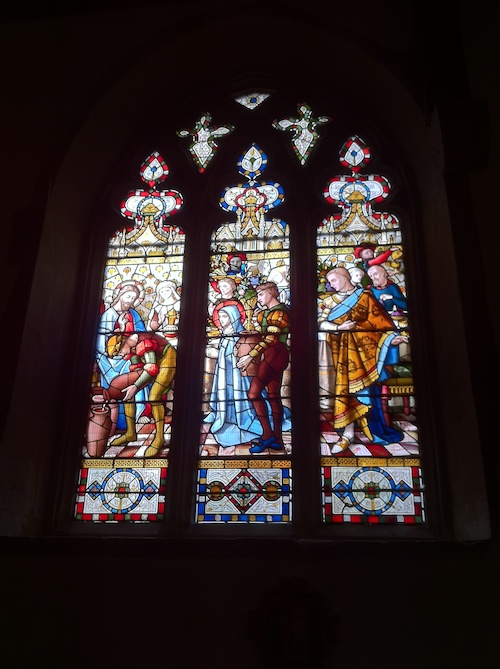 Stained Glass windows at St. Martin's Church in Ruislip – © LoveToEatAndTravel.com