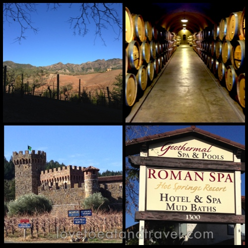 Calistoga Vineyards, Wineries and Spas – © LoveToEatAndTravel.com
