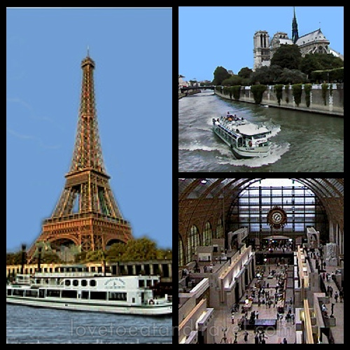 Eiffel Tower, Seine River Cruise and Musee d'Orsay, Paris, France– © LoveToEatAndTravel.com