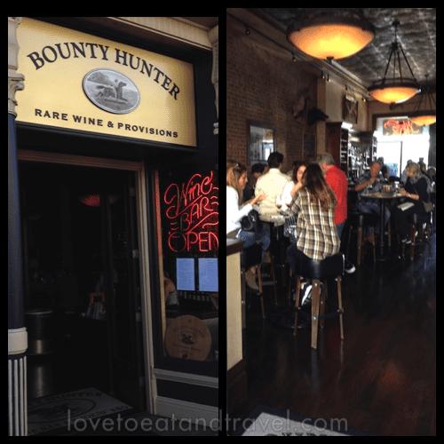 Bounty Hunter Wine Bar © LoveToEatAndTravel.com