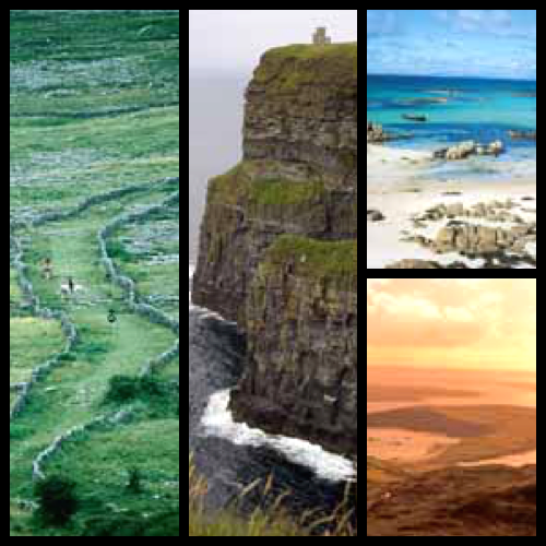 Gallay - The Burren, Cliffs of Moher and Connemara © Tourism Ireland
