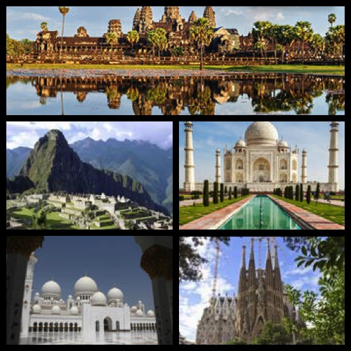 TripAdvisor's Travelers' Choice Awards – Top 5 World Wonder Landmarks – Photo credit: Viator