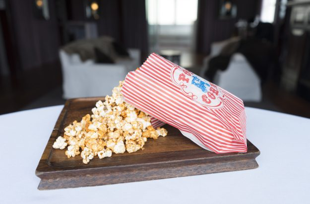 Spring Happy Hour - BBQ Popcorn - photo credit: CLIFT Hotel