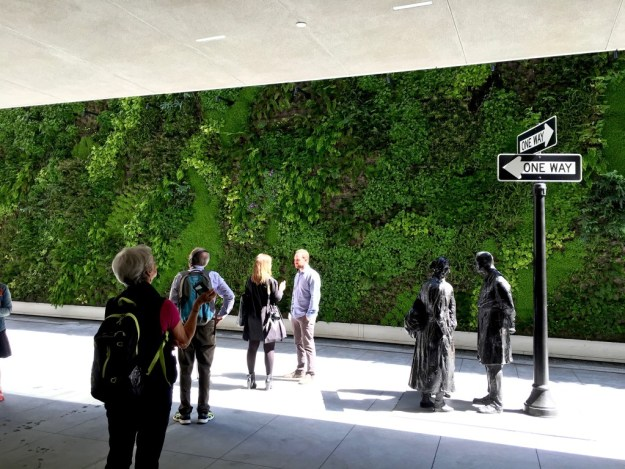 Living Wall on the Sculpture Terrace at SFMOMA - photo © Love to Eat and Travel