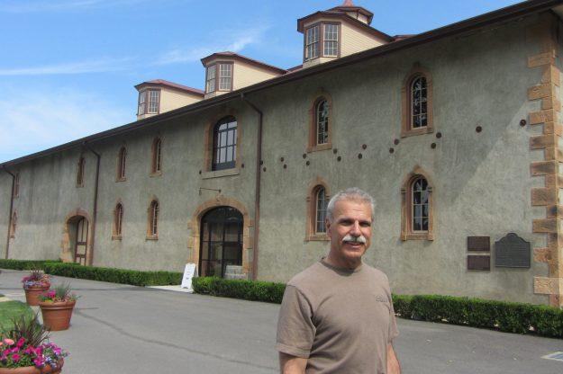 Charles Krug - Peter Mondavi Jr at the winery - Photo Credit: Deborah Grossman