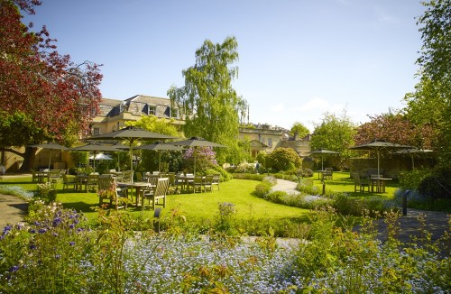 The Royal Crescent Hotel & Spa - view of Gardens © The Royal Crescent Hotel & Spa