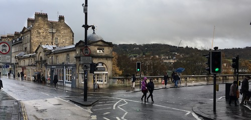 Pulteney Bridge in Bath, UK - photo © Love to Eat and Travel