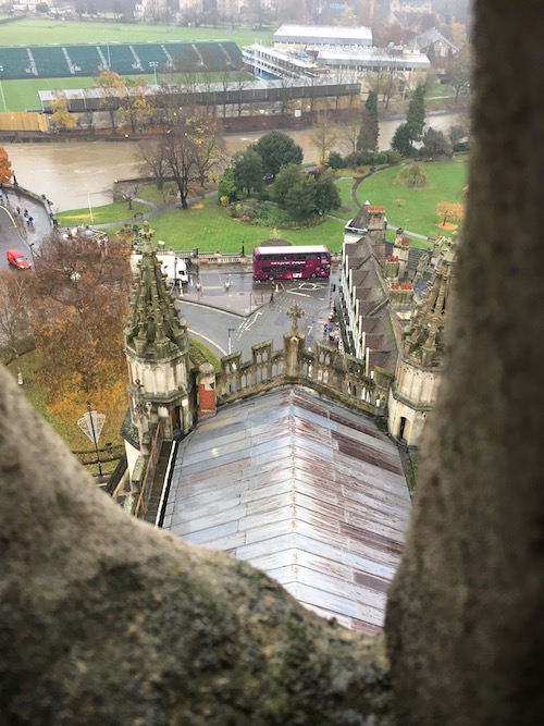 Bath Abbey - View from the top of the Tower, Bath, UK - photo © Love to Eat and Travel