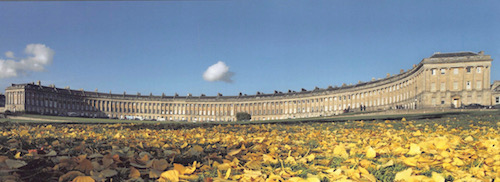 The Royal Crescent in Bath, UK - photo © The Royal Crescent Hotel