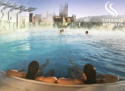 Thermae Bath Spa's open-air rooftop pool in Bath, UK - photo © Thermae Bath Spa