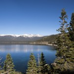 Lake Tahoe, California in the winter