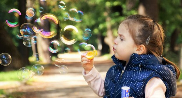 Think like a child and be in the moment! by Barry Ross