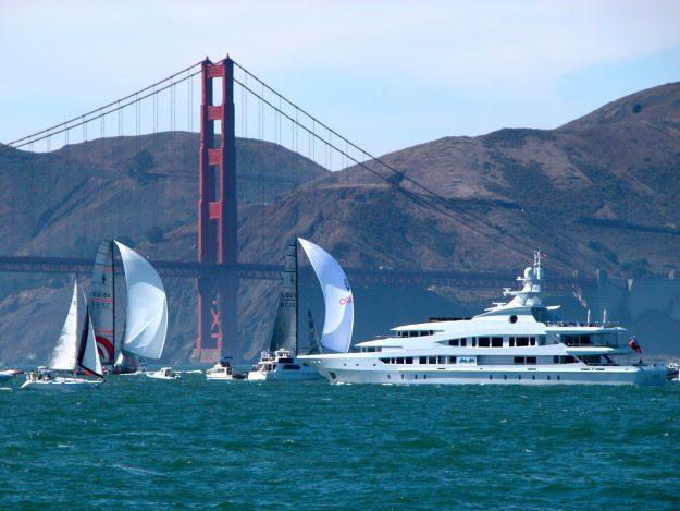 Golden Gate Bridge - San Francisco Bay Sailing and Yachts