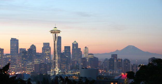 Seattle City Skyline, WA