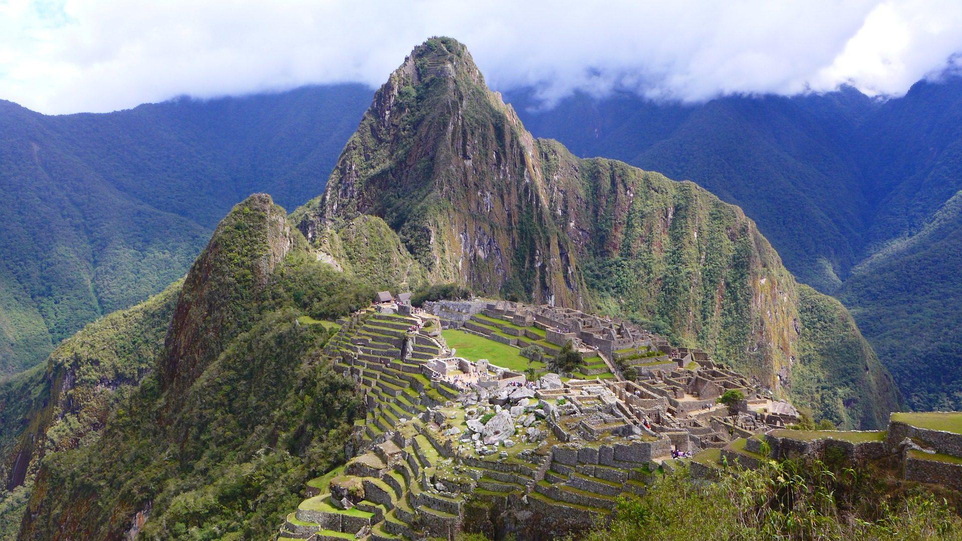 Machu Piccu in Peru, South America