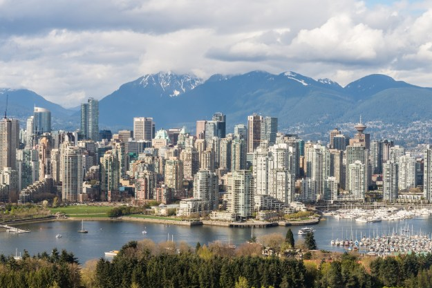 Vancouver Skyline BC Canada