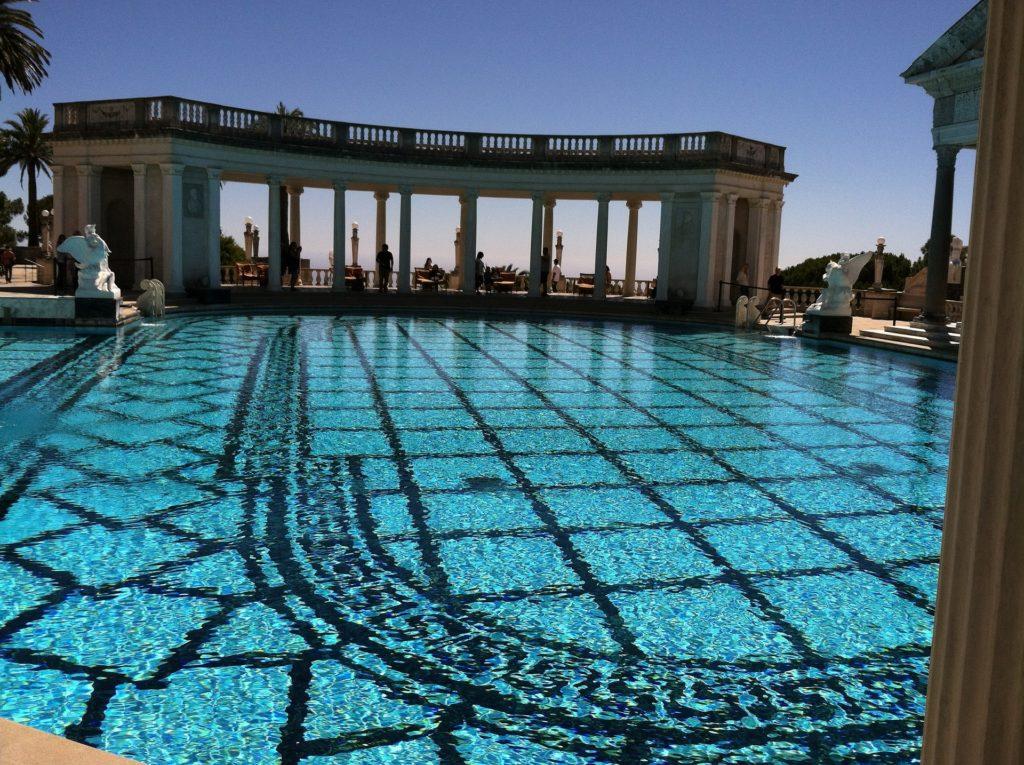 Neptune Pool, Hearst Castle, San Simeon, CA