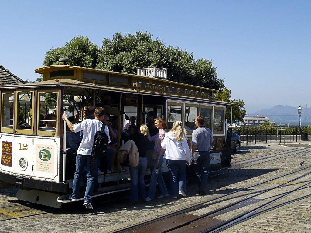 Cable Cars, San Francisco, CA
