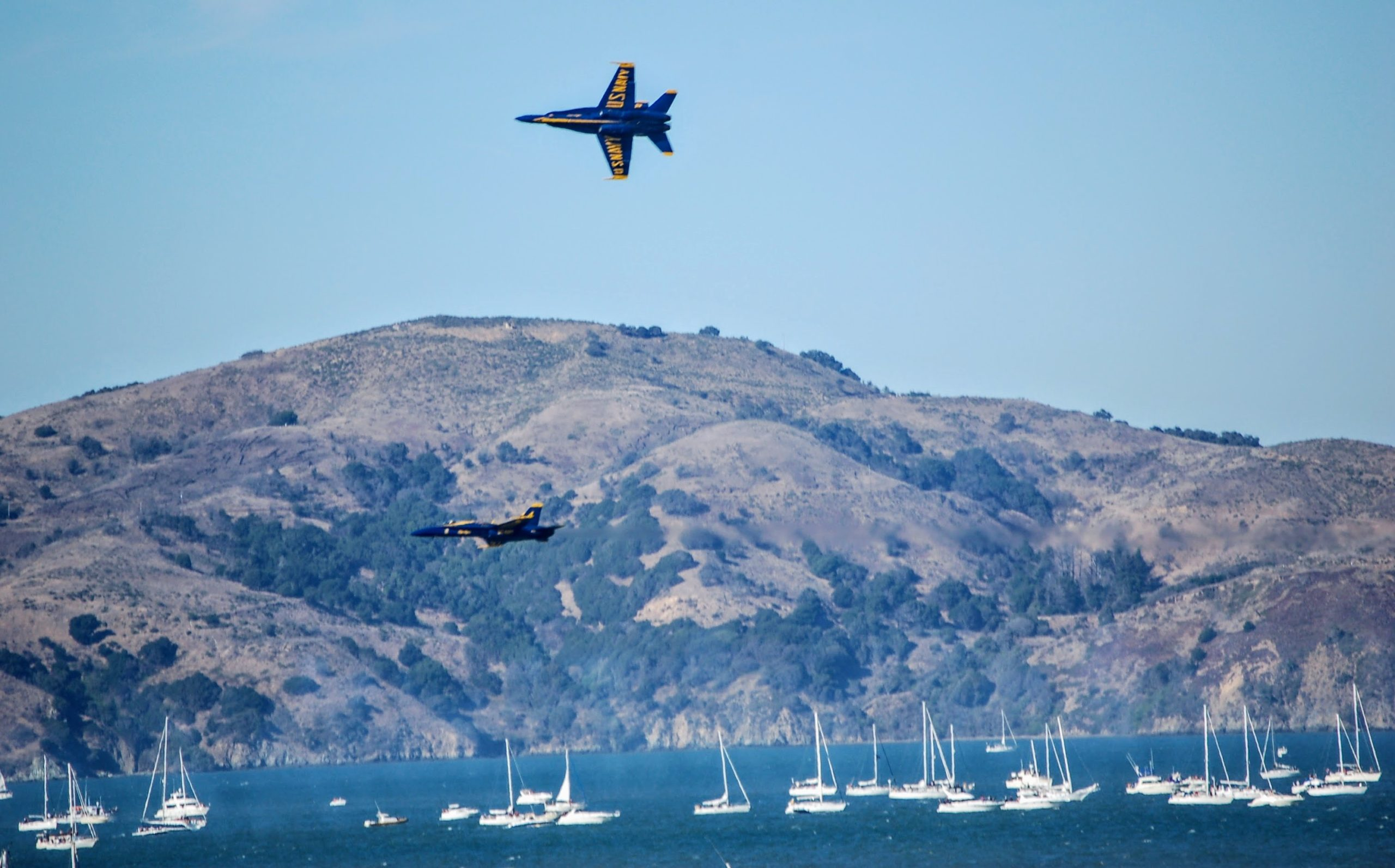 Fleet Week SF, Angel Island and SF Bay, San Francisco