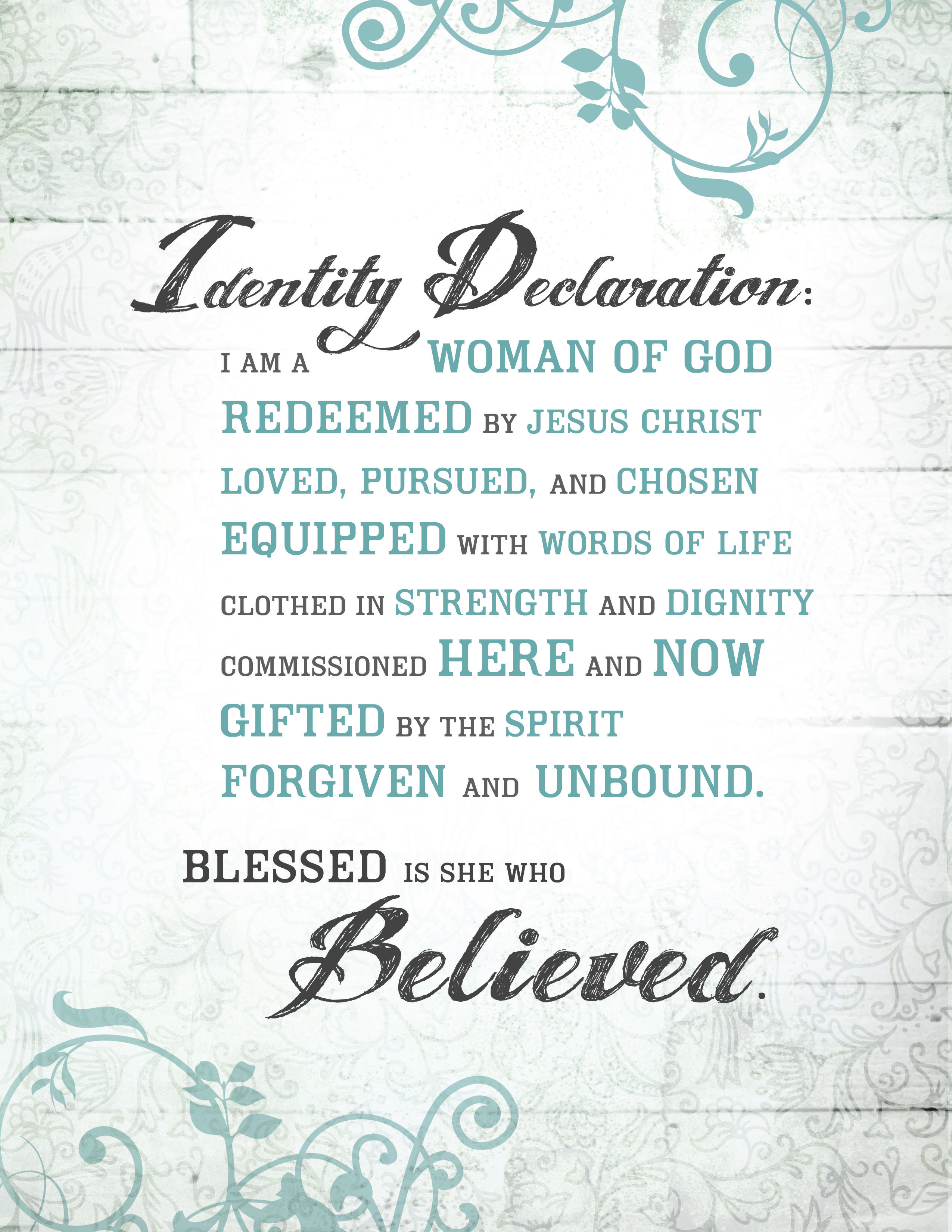 for a Woman of God