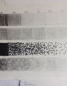 This is my value chart it looks better in person just so you know  used different pencils and techniques for each row the first called hatching also art  kaya  portfolio rh blogei