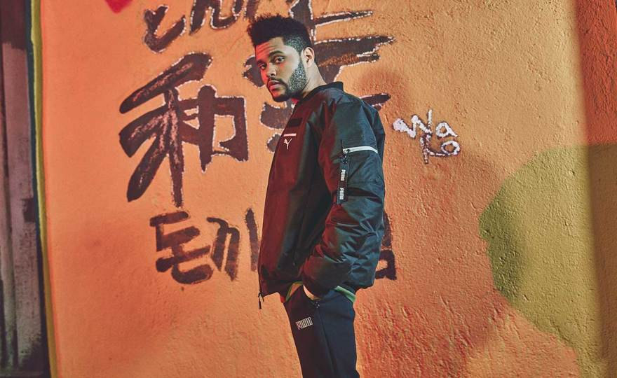 The Weeknd by Puma