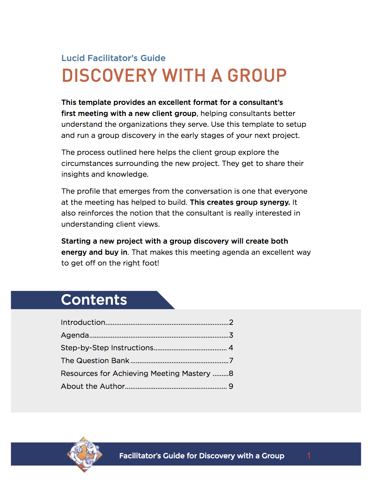 How to Lead a Group Discovery Meeting: Facilitation Techniques for Consultants