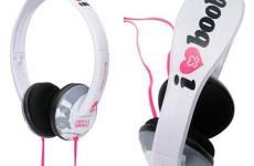 Skull Candy I Heart Boobies Headphones