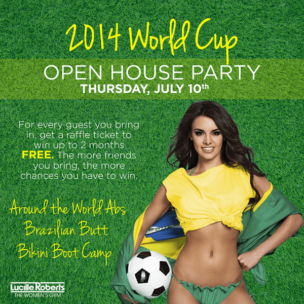 2014 World Cup Open House Party At Lucille Roberts